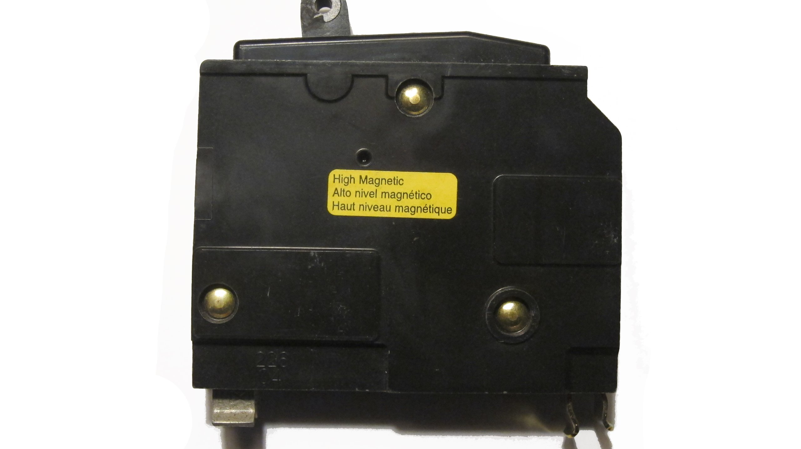 QO115HM Square D Circuit Breaker, 15A 1-Pole