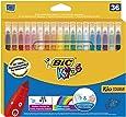 BIC Kids Kid Couleur - Pack de 36 rotuladores