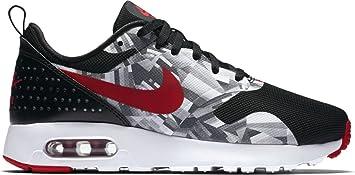 online store 40716 65948 Nike 844821-001 Boys' Air Max Tavas Print GS Shoes, Black/Gym Red-Wolf  Grey-White, 5.5 M US Youth