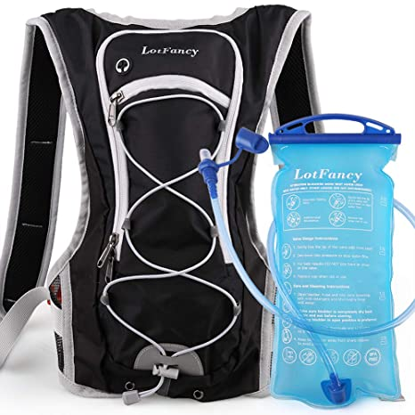 Amazon.com   Hydration Backpack with 2L Bladder (BPA Free ... bbbe42d117
