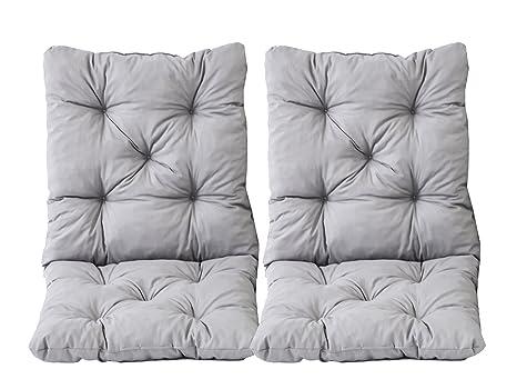 Cuscini Con Schienale Per Sedie Da Esterno : Ambientehome nbsp set di cuscini seduta e schienale per sedia