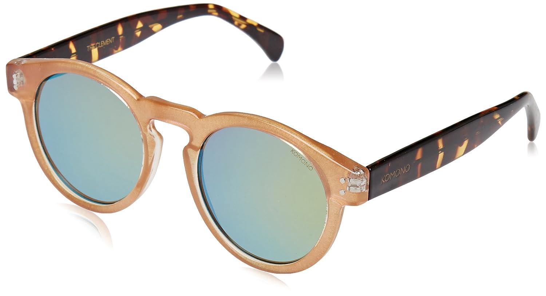 KOMONO Unisex-Erwachsene Brillengestelle Clement, Mehrfarbig (Pearl/Tortoise), 48