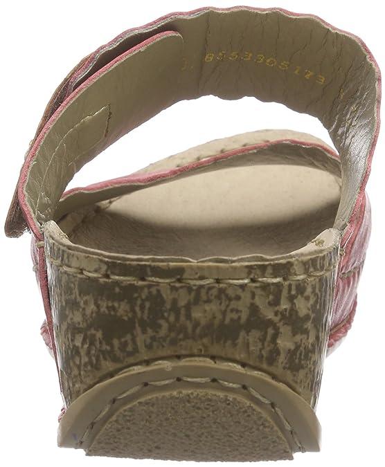 Rieker 69282 Women Open Toe, Women's Mules