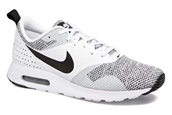 Nike Air Max Tavas Premium Baskets Homme, BlancNoir: Amazon