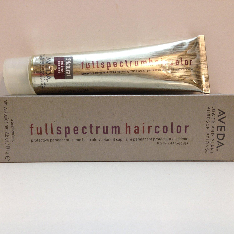 AVEDA full spectrum Protective Permanent Creme Hair Color 2N Natural DARK BROWN dye
