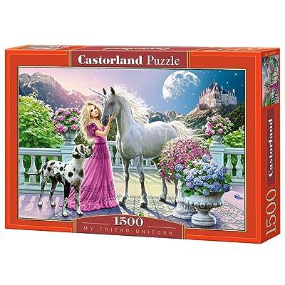 Castorland C-151301-2 - Puzzle - Mon Amie la Licorne - 1500 Pièces