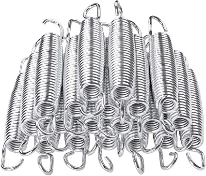 90x 5 Inch Trampoline Springs Heavy-Duty Galvanized Steel Replacement Set Kit US