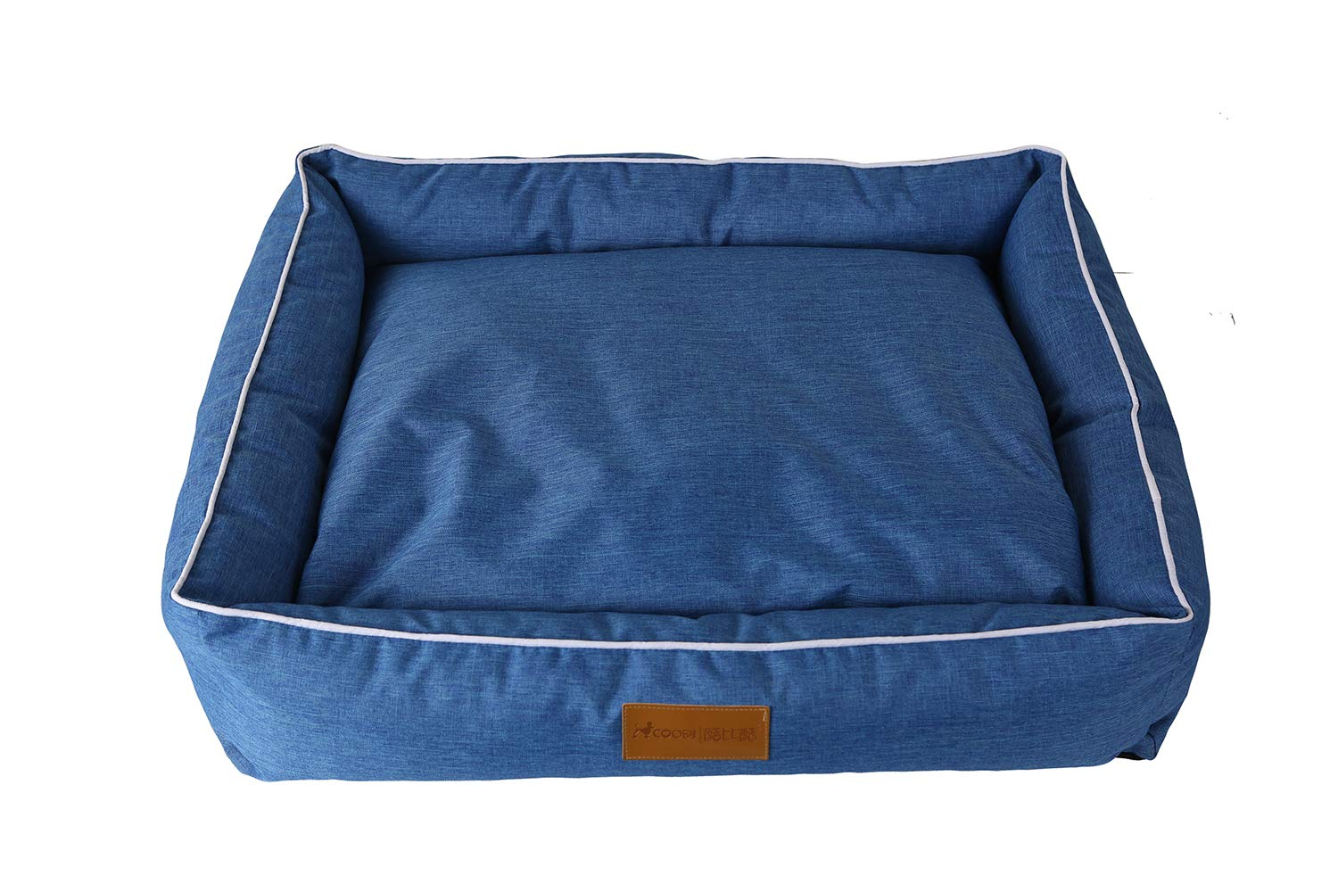 Large Pet Bed Pet Dog Bed with Dog pad Removable Four Seasons Kennel cat Litter Oxford Cloth,L