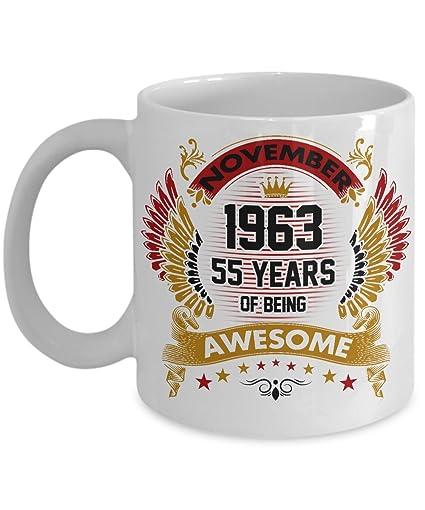 Fun 55th Birthday Coffee Mug Novelty Gift Men Women 55 Year
