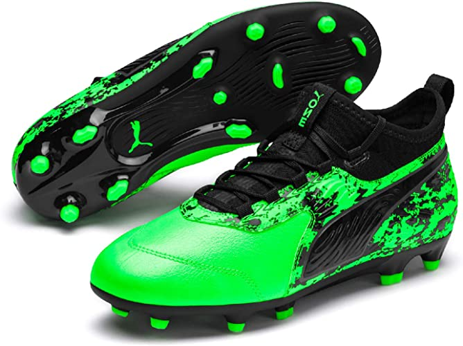 Puma Future 19.3 Childrens FG Football Boots Firm Ground Lightweight Studs Knit