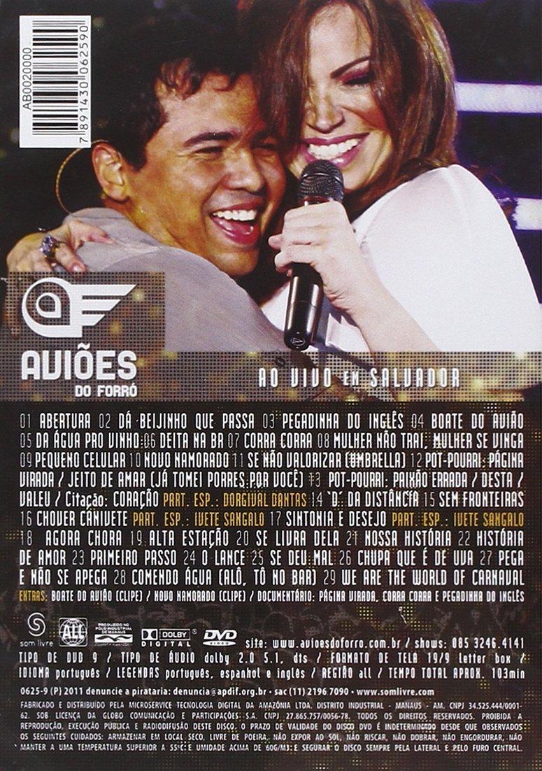 EM VIVO DVD AO DO BAIXAR FORRO 2011 AVIOES SALVADOR