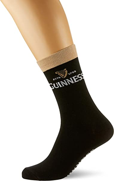 Guinness Official Socks One Size Socks One Size Merchandise Signature Pint Men/'s
