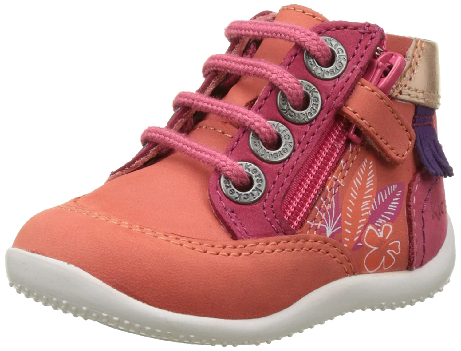 Kickers Biflorid, Baskets bébé Fille 552070-10-213