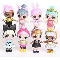 Dolls for Girls Barbie 8pcs LoL Surpries Dolls Lovely Eyes Dolls Toys for Girls Garage Kits