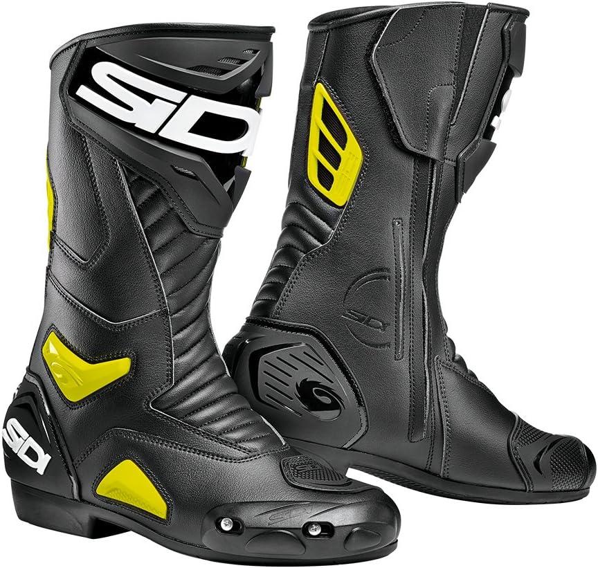 EU 39 Nero SIDI Esecutore Stivali da Moto