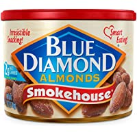 Blue Diamond Almonds, Smokehouse, 6 Ounce (Pack of 6)