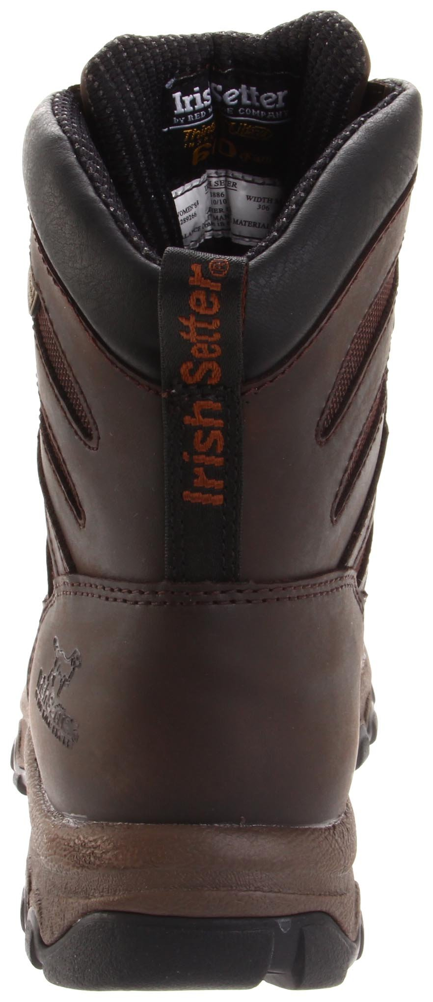 Irish Setter Women's LadyHawk Waterproof 600 Gram 7'' Big Game Boot,Brown,5 B US by Irish Setter (Image #2)
