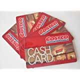 [5 Pack] $100 Costco Cash Card - Total Value $500 - No expiration date - Brand new from Costco