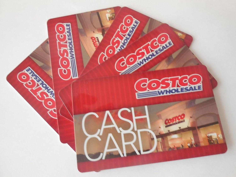 Amazon.com: [5 Pack] $100 Costco Cash Card - Total Value $500 - No ...