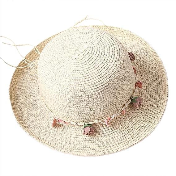 LAAT Sombreros de Vestir para Mujer Summer Sun Sombreros Panamá ...