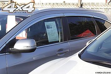 Autoclover Wind Deflectors Set for Honda CRV 2012-2017 6 pieces