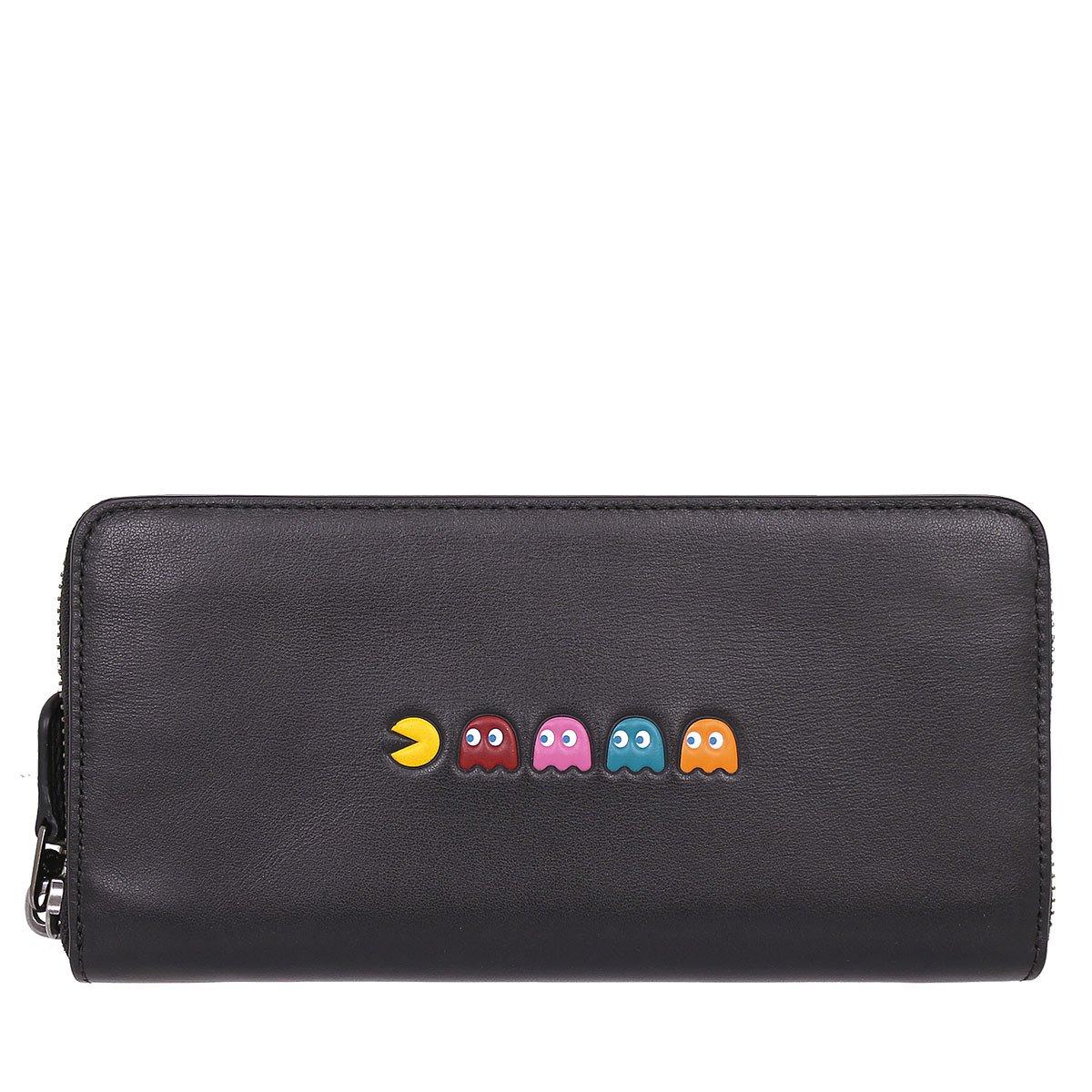 [コーチ] COACH 財布 (長財布) F55736 ブラック QB/BK レザー 長財布 メンズ レディース [アウトレット品] [並行輸入品] B01MQ41VDB