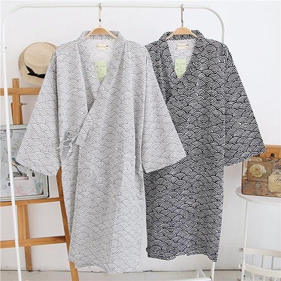 Underwear & Sleepwears 2019 Child Kid Japanese Kimono Yukata Bathrobe Matching Belt Stripe Pajamas Cotton Robe Clothing Long Summer New