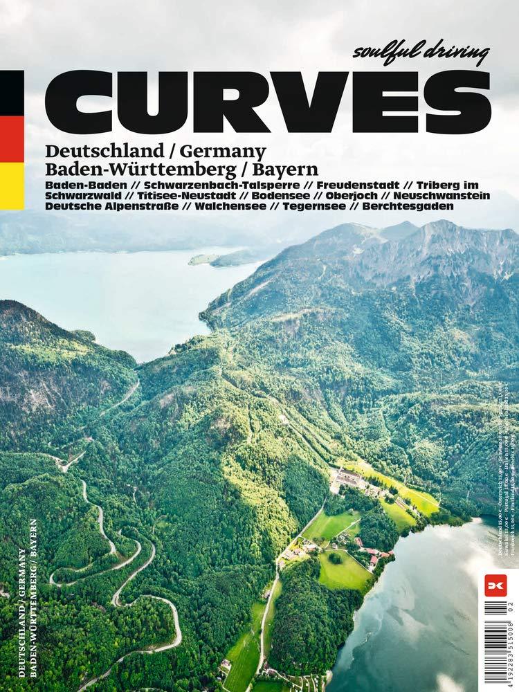 CURVES 13 Deutschland / Germany: Band 13: Baden-Württemberg / Bayern