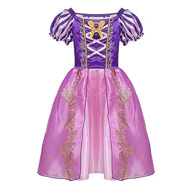 iiniim Vestido de Princesa para Niña Tutú Unicornio Disfraz Infantil de Pirata Traje de Fairy Tales Disfraces de Fiesta Halloween Cosplay Costume