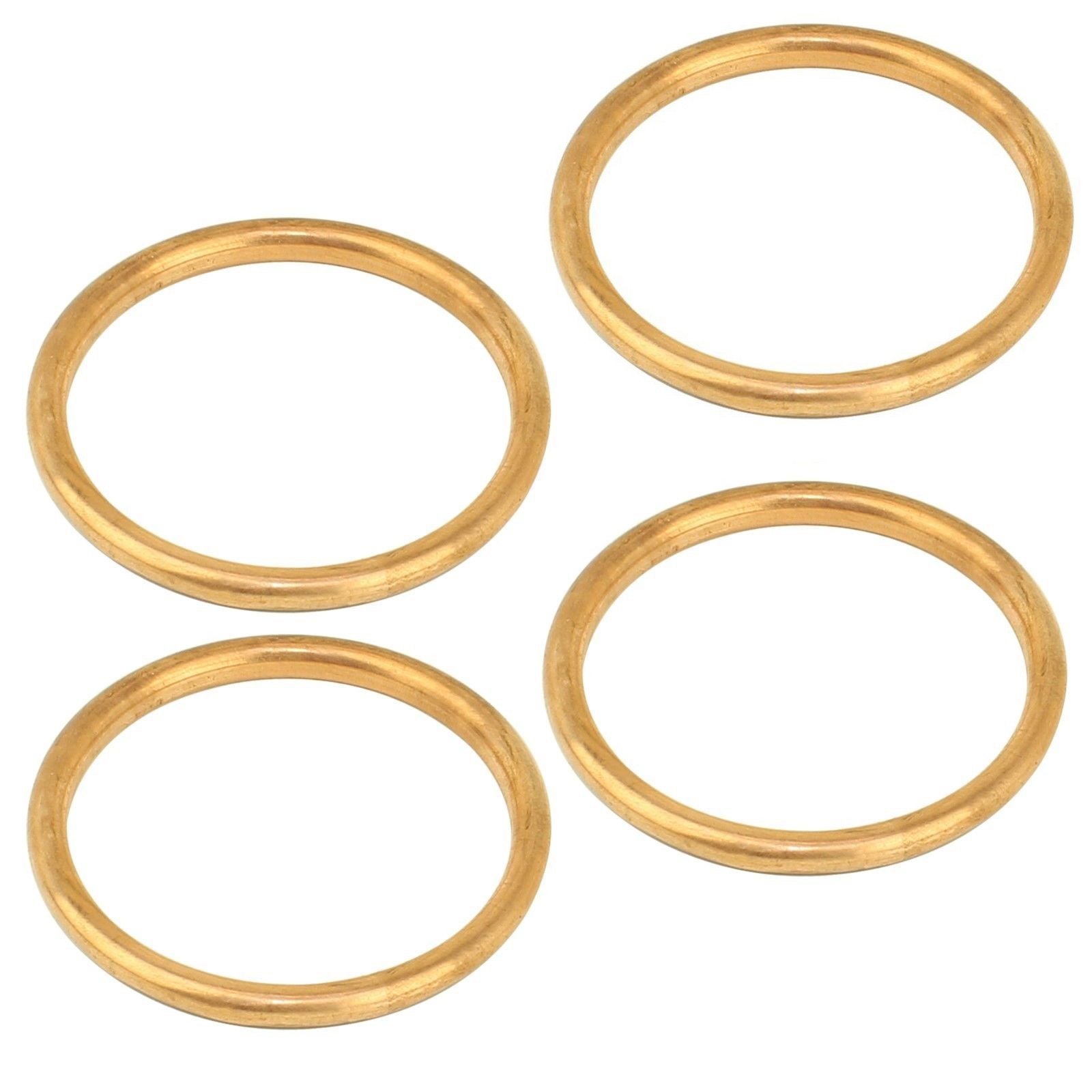CALTRIC Exhaust Pipe Gaskets Fits HONDA GL1200 GL1200A GL1200I Goldwing 1200 1984-1987