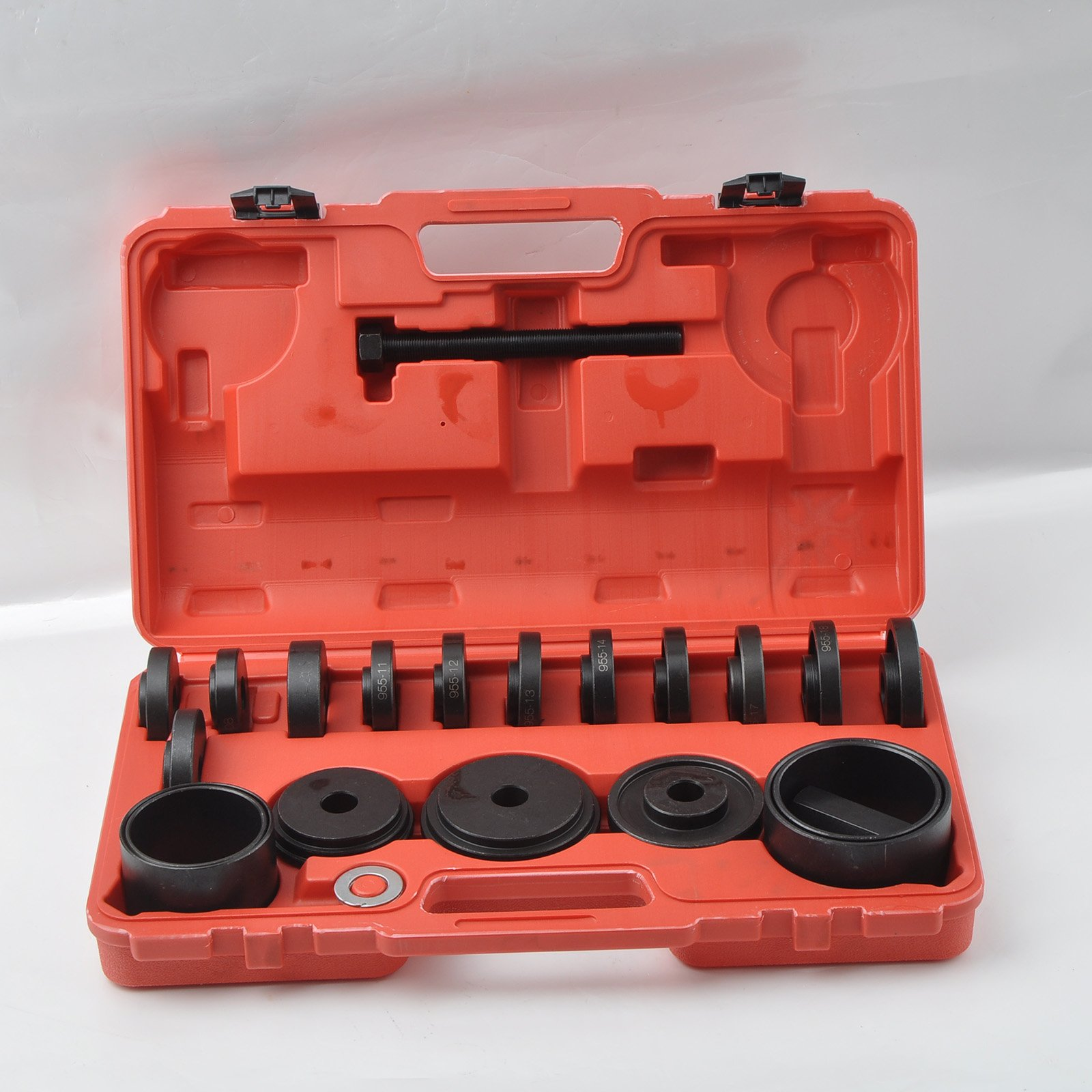 WIN.MAX 23 Pcs FWD Front Wheel Drive Bearing Adapters Puller Press Replacement Installer Removal Tool Kit by WIN.MAX (Image #3)