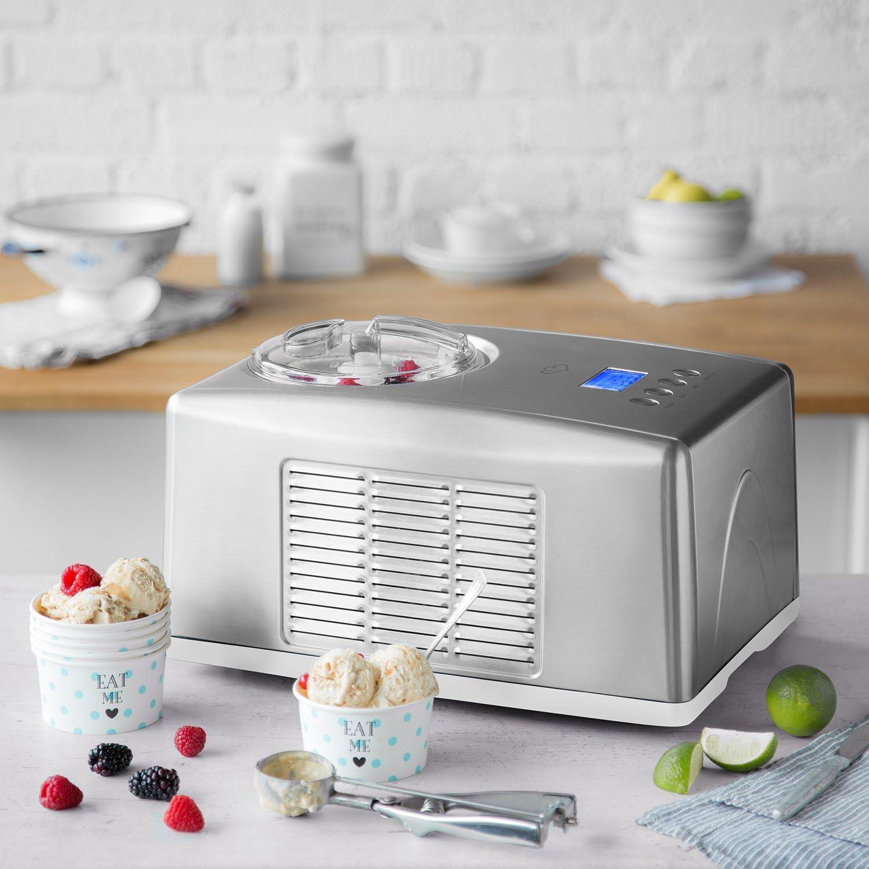 Springlane Kitchen Eismaschine Emma mit selbstkühlendem Kompressor