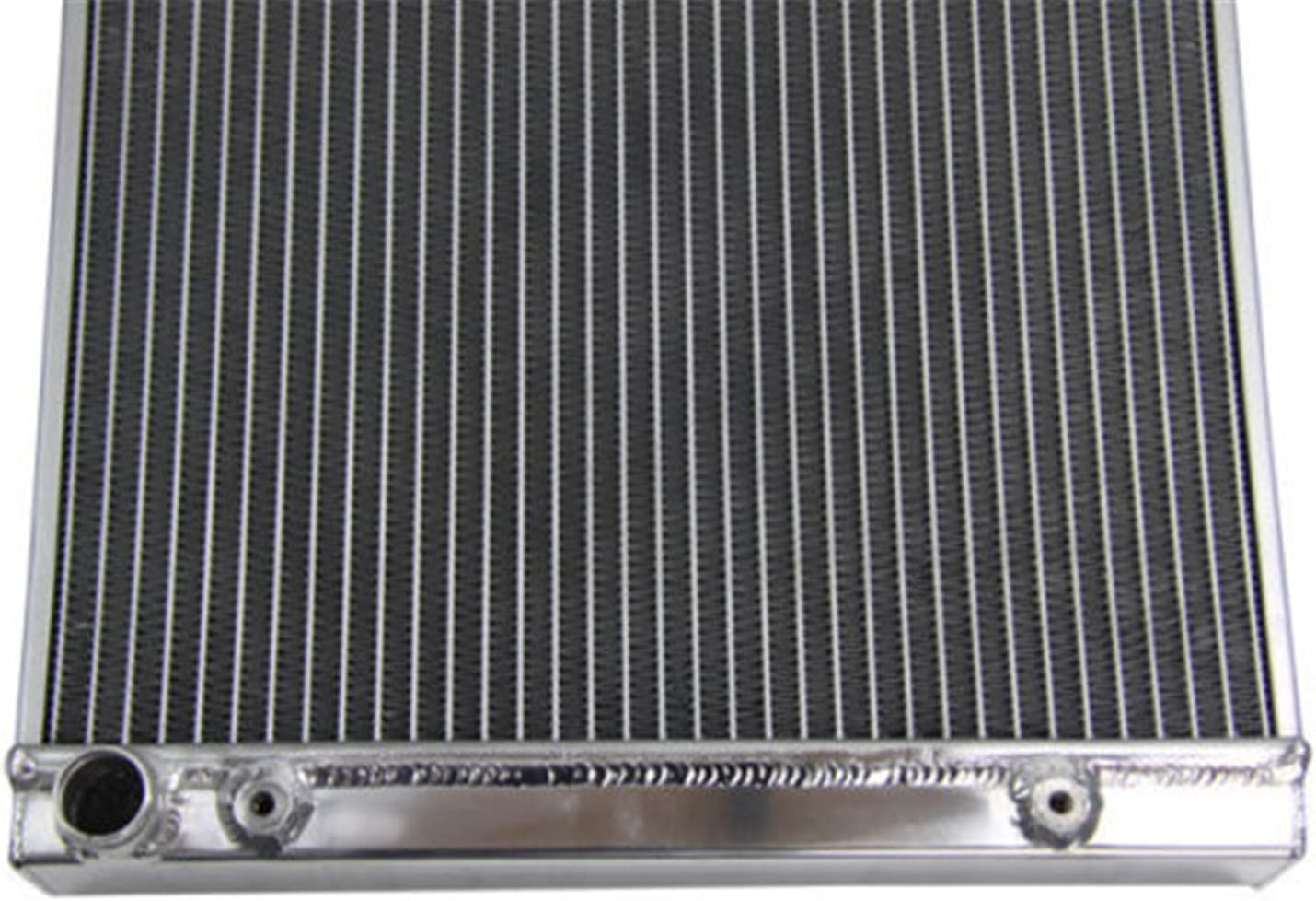 Primecooling 2 Row Full Aluminum Radiator for Polaris RZR XP 1000 EPS// RZR XP 4 1000 EPS More Models 2014-17