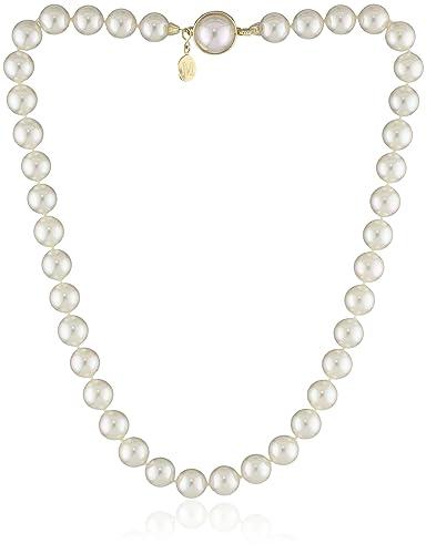 Majorica Pearl Necklace, 18L