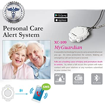 Amazon myguardian emergency fall motion detection and myguardian emergency fall motion detection and personal care alert device for seniors and special needs mozeypictures Gallery