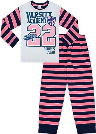 Cool Girls USA College Varsity Team - Pijama largo a rayas