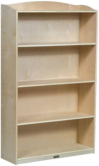 Guidecraft 6 Shelf Bookshelf