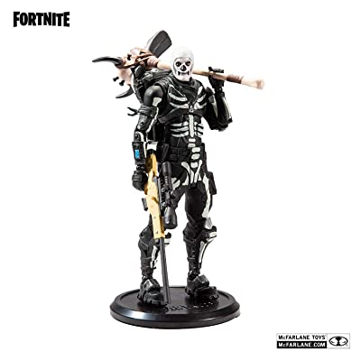 McFarlane Toys Fortnite Skull Trooper Premium Action Figure: Toys & Games