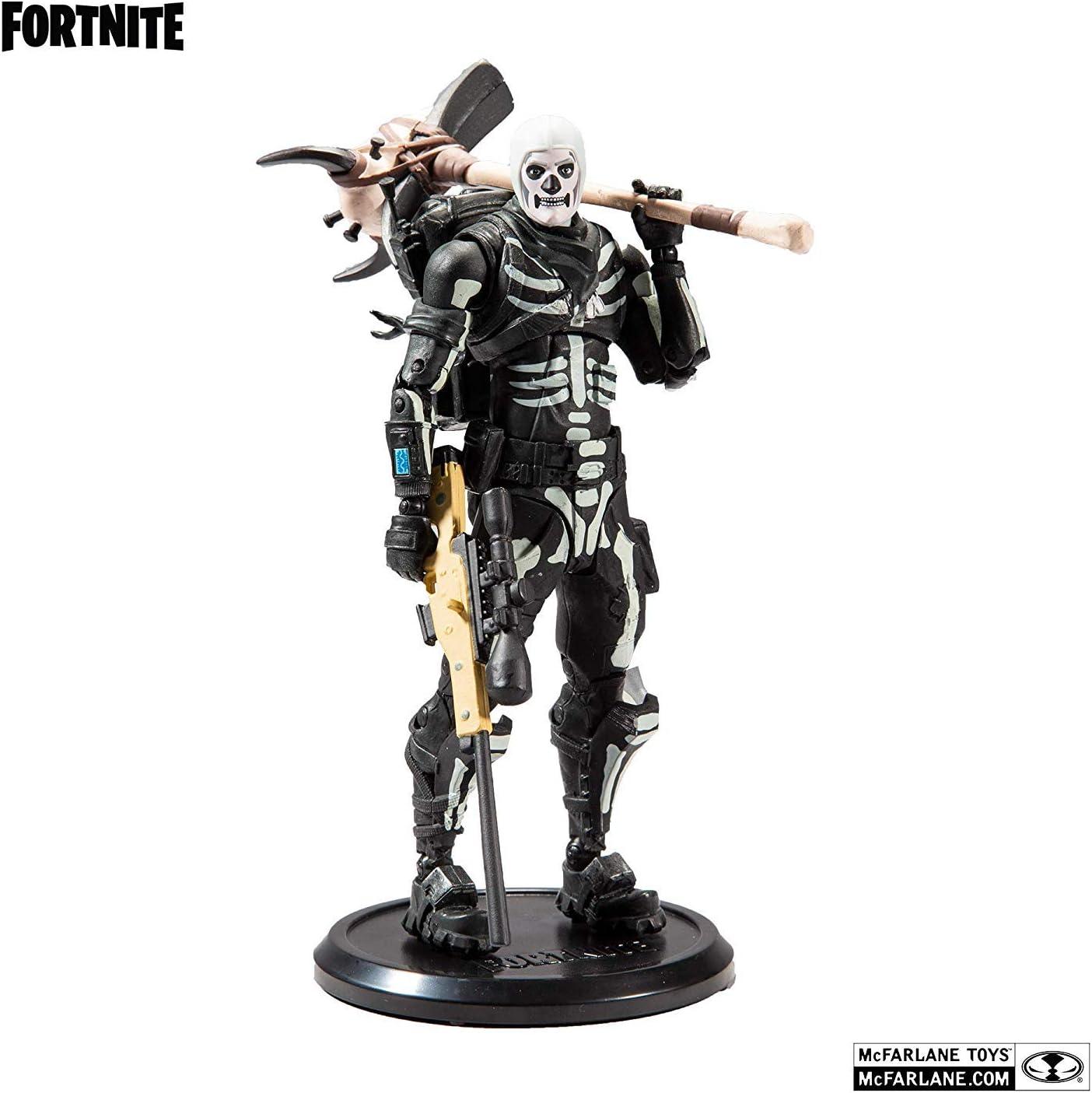 Fortnite Figura articulada Skull Trooper, Multicolor, Talla única (MC Farlane MCF10602-2)