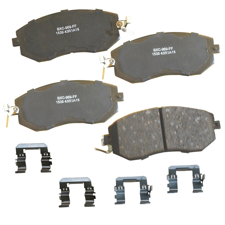 Pro Braking PBK4158-ORA-GOL Front//Rear Braided Brake Line