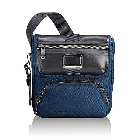 73ce895b4 Tumi Alpha Bravo - Barton Crossbody Messenger Bag, 24 cm, 3.43 liters, Blue  (Navy): Amazon.co.uk: Luggage