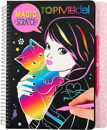Libro para colorear para niñas.,Diseño: TOPModel.,Dimensiones: aprox. 18,5 x 22 x 2 cm.,Con motivos