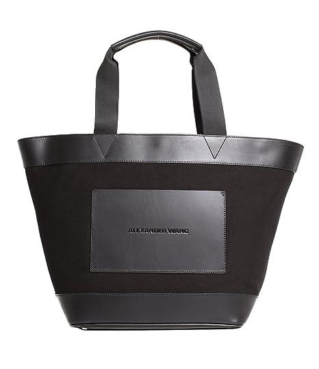 ab2eba863817 Alexander Wang black shopping tote  Amazon.co.uk  Clothing