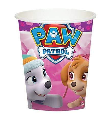 Amazon.com: Niña Pups Paw Patrol Skye y Everest 4ª Fiesta de ...