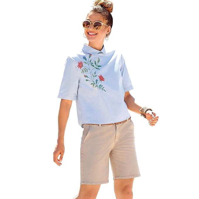 4356bc945c5 VENCA Bermuda Pinzas en la Espalda Mujer by Vencastyle - 010160  Amazon.es   Ropa y accesorios