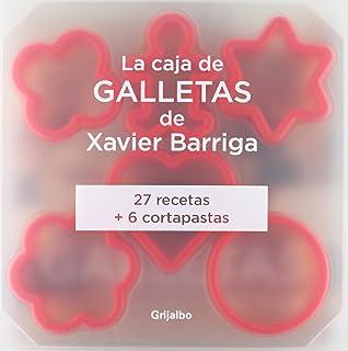 La caja de galletas de Xavier Barriga: (Incluye seis moldes) (Sabores)