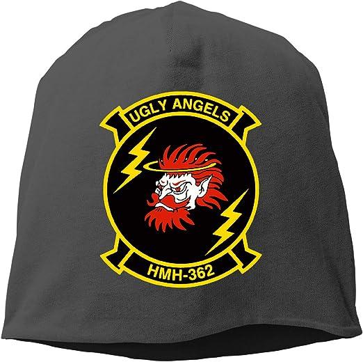 QKQ77 KK7 Marine Corps USMC American Flag Hedging Hat Unisex Skull Hat Knitted Hat Beanie Cap for Autumn//Winter Cap
