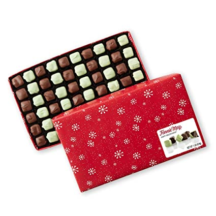 When Will Fannie Mae Mint Meltaways Be Available For Christmas 2020? Amazon.: Fannie May Holiday Wrap Mint Meltaways, Milk
