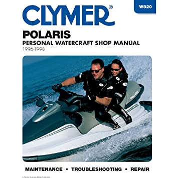 Clymer Repair Manual For Polaris Watercraft PWC