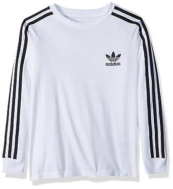 e0ef4b04c Amazon.com: adidas Originals Boys Originals California Long Sleeve Tee:  Clothing